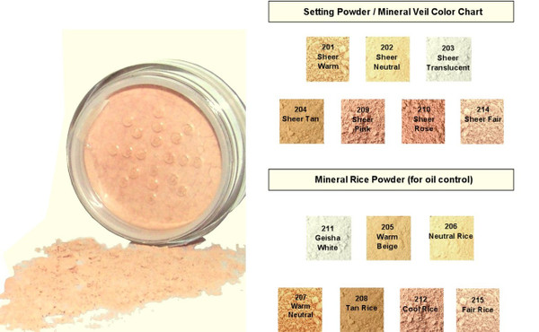 SAMPLE Natural Mineral Rice Powder