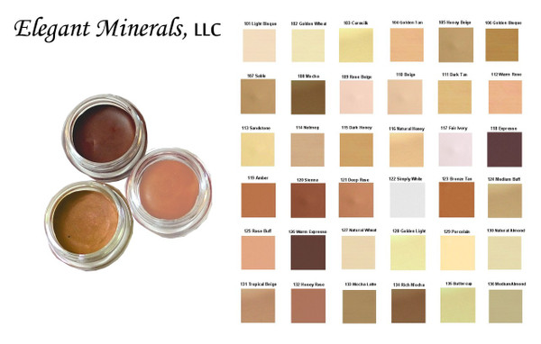 SAMPLE Natural SPF-15 Cream to Powder Mineral Foundation Compact