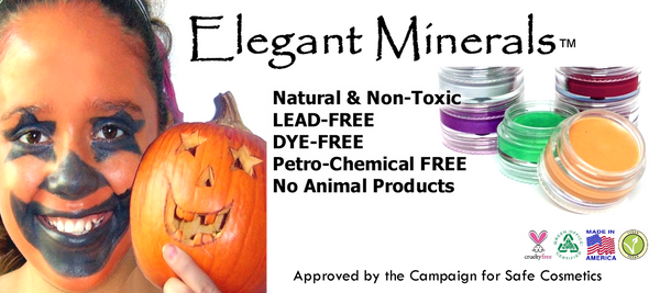 Elegant Minerals - Natural and Non-toxic, Lead Free, Dye-free, No Animal Product, Cruelty free. Made in USA
