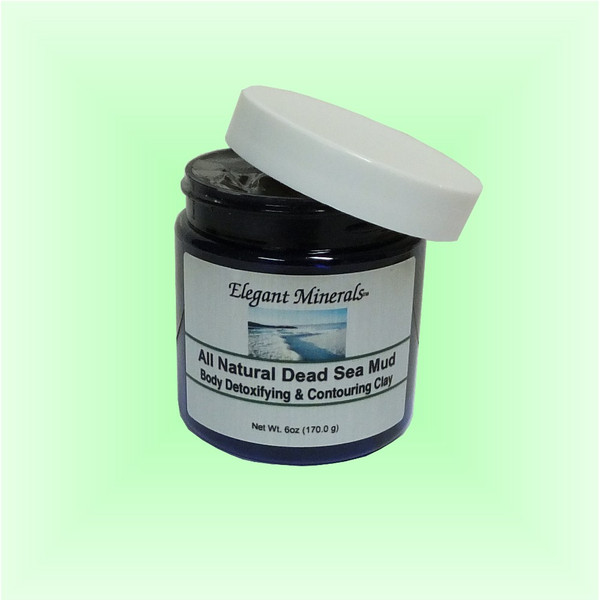 Set of 10 x 6oz. 100% All Natural Dead Sea Mud