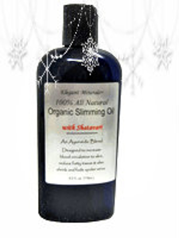 100% Natural & Organic cellulite treatment oil. Use weekly or in between Body wraps or Salon & Spa treatments.