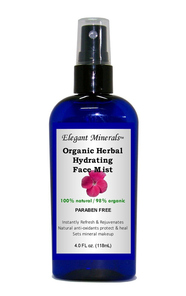 2oz Organic Herbal Hydrating Face Mist /Setting Spray