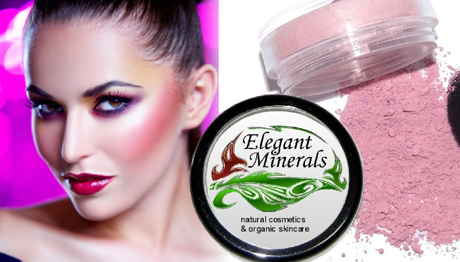 Natural and Organic Mineral Blush 40 colors
