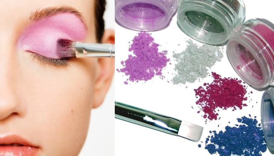 Over 80 natural mineral eye shadows, use our primer to enhance the colors