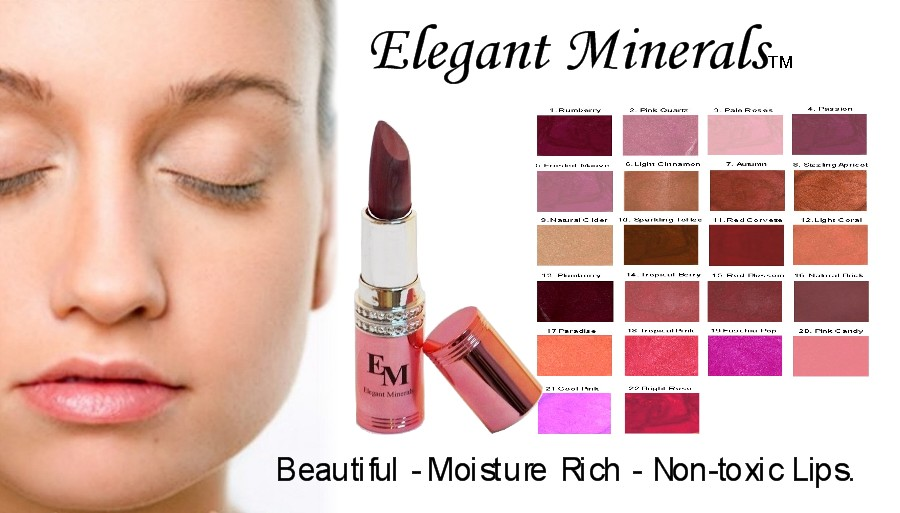 Natural and Organic Lip products, natural lipstick, natural lip liner, natural lip balm, natural lip plumper DYE-free