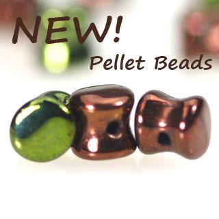 Czech Pellet Beads - Glass beads