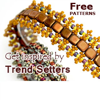 Free Beading Patterns by Diane Fitzgerald & others