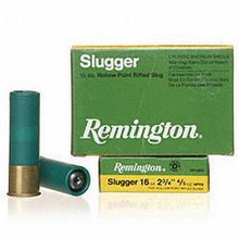"Remington Slugger Rifled Slug 2-3/4"" 16GA - SP16RS"