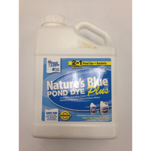 Herman Brothers Nature's Blue Plus Pond Dye - 1 Gallon