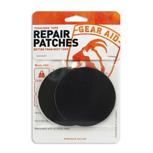 McNett Tenacious Clean Tape Patches - Clear & Black