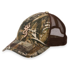Browning Bozeman Cap - Brown Mesh