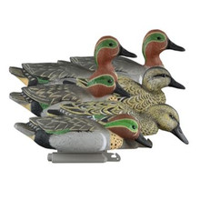 Higdon Foam Filled Standard Greenwing Teal Floaters - 6pk - 710617199430