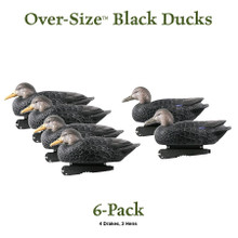 Avery GHG Over-Sized Black Duck Floaters - 6pk - 73015 - 700905730155