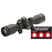 "Tenpoint 3X Pro-View 2 Scope with 7/8"" Run"
