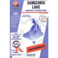 Fishing Hot Spots Sangchris Lake Map