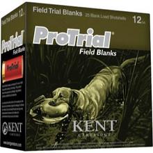 "Kent Ammunition Pro Trial Field Blanks 12ga 2-1/2"" Case"