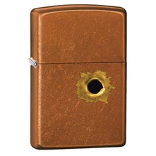 Zippo Windproof Lighter Bullet Hole