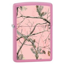 Zippo Windproof Lighter Realtree AP Pink