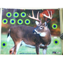 """American Whitetail Infinity Faces-Rut Buck 34""""x44"""""""