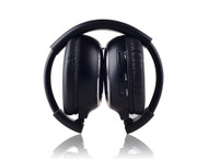 2 Folding Silent Disco Headphones + 2 Single Channel Transmitters
