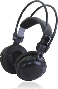 2 Silent Disco Headphones + 2 Single Transmitters
