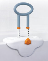 Clamp-On, Height-Adjustable Tub Rail