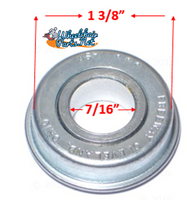 "B90 7/16"" X 1 3/8"" FLANGED BEARING Rear Wheel. Pack of 4"