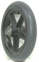 "CW142 7"" x 1"" Caster Wheel with 2.05"" Hub Lenght and 5/16"" bearings. Sold as Pair"