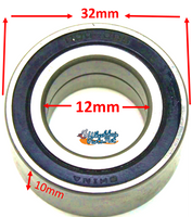 B120 12mm ID x 32mm OD x 10mm H. Sold as pack of 4