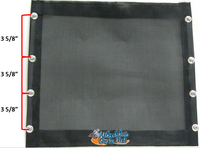 """NEW Flo-Flex Upholstery System - SEATS with 3 5/8"""" hole pattern, Choose Size"""