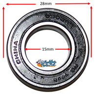 B115P 15mm x 28mm (9/16 x 1 1/8) Precision Bearing