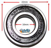 B140P 10mm x 22mm x 6mm Precision Bearings