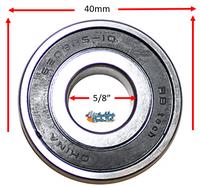 """B145P 40mm x 5/8"""" X 12mm Precision Bearing"""