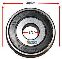 """B170P 1/2"""" X 40mm Precision Bearing"""