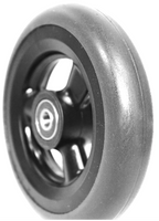 "CW102QPB - 5 X 1""  HOLLOW SPOKE CASTER WHEEL, QUICKIE - ONE PAIR"