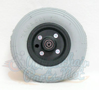 "CW203PB20 - 8 X 2"" Wheel for Invacare power chairs with FOAM FILL TIRES & 7/16"" bearings. Sold as Pair"