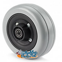 "CW237P - 6 X 2"" Wheel for Invacare TDX Power Chairs"