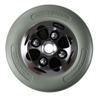 "CW271PB - 8X2"" ALLOY WHEEL W/ URETHANE TIRE - ONE PAIR"