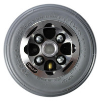 "CW273PB - 8X2"" ALLOY WHEEL W/ FOAM FILLED TIRE - ONE PAIR"