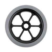 "CW104PB - 5 X 1""  6 SPOKE CASTER WHEELS - ONE PAIR"