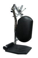 """FR451R- TOP LATCHING  ELEVATING LEGREST W/ ADJUSTING CLAMP. STANDARD RIGHT PIN SPACING - 3 1/8"""""""