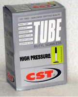 I098P- 700X19/23C (19X622) High Pressure Inner Tube, French Valve. Sold as pair.