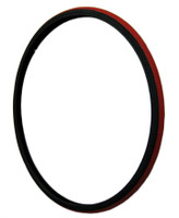 "T106-2P-  26 X 1"" RED TIRE. SOLD AS PAIR"