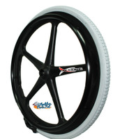 "RW57X - 24 x 1 3/8"" (25-540)  X-CORE 5 SPOKE REAR WHEEL. SOLD AS PAIR"