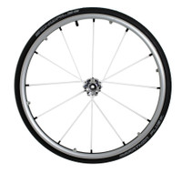"RWXLACED-SPINERGY X-LACED 24"" REAR WHEELS 12 SPOKES. PAIR"