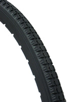 "AL044P- 24 X 1 3/8""  DARK GRAY URETHANE STREET TIRE. SOLD AS PAIR"