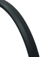 "AL222P- 24 X 1""  DARK GRAY CORDLESS SOLID TIRE. SOLD AS PAIR"