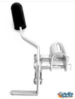 WL020P- CLAMP OVER TYPE WHEEL LOCK FOR FIXED ARMREST. SOLD AS PAIR