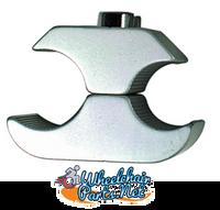 "WL130C-  7/8"" GRAY WHEEL LOCK CLAMP"