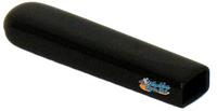 RB115-  BLACK VINYL WHEEL LOCK TIP.